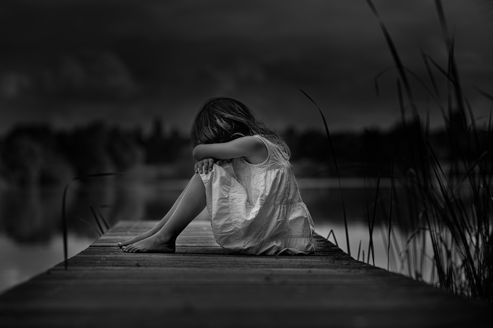 A piece of fine art art photography titled A Childhood by Christoph Hessel