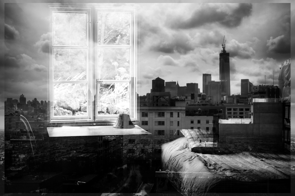 A piece of fine art art photography titled Dreamscapes I by Pistol Wish
