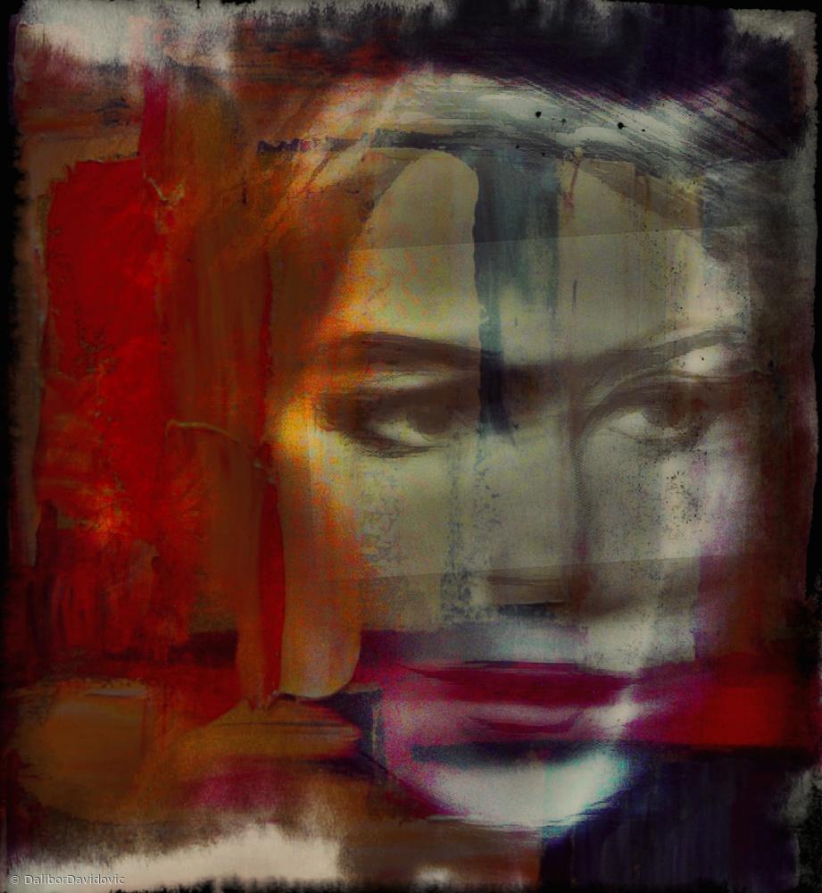 A Quiet darkness ( portrait )