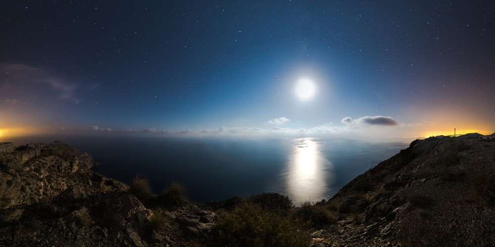 A piece of fine art art photography titled Desde El Atalayon by David Ros