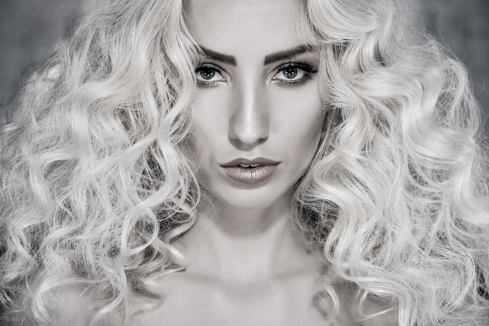 Olga In Almost Black & White