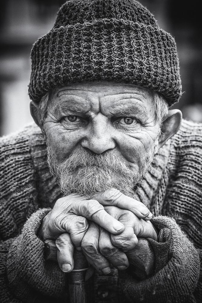 A piece of fine art art photography titled Old Man by samir