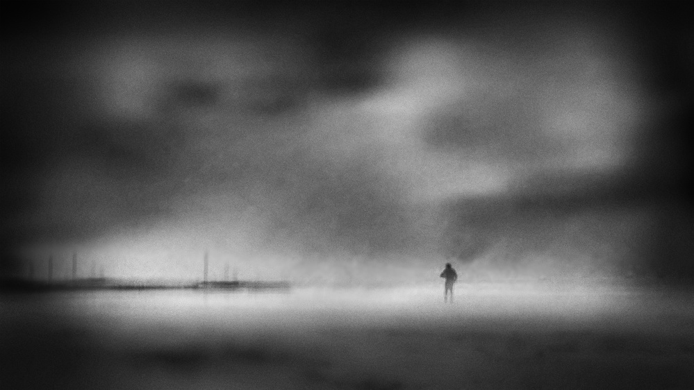 A piece of fine art art photography titled Lost by Ina Tänzer