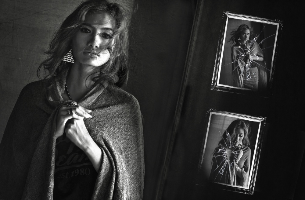 A piece of fine art art photography titled Mood by Ahmad Hidayat Syahrani