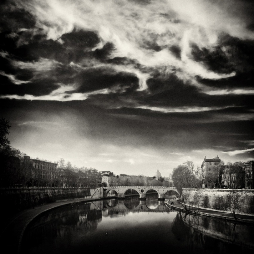A piece of fine art art photography titled One Hundred Years Ago ROMA by aldo feroce