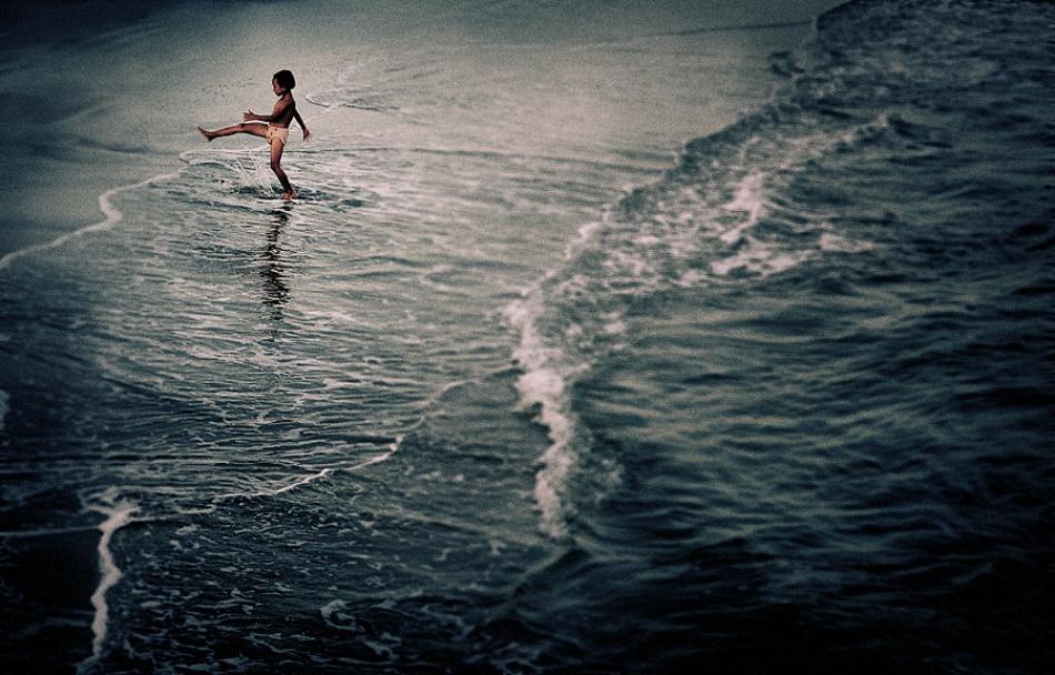 A piece of fine art art photography titled My World by photobig