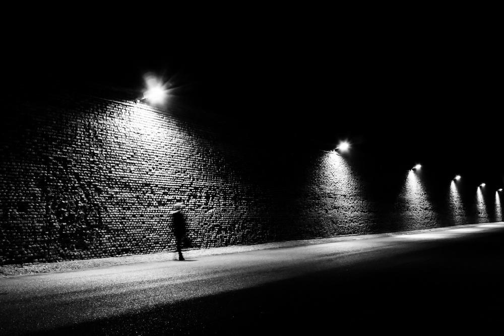 A piece of fine art art photography titled Walking by Christian Manzotti