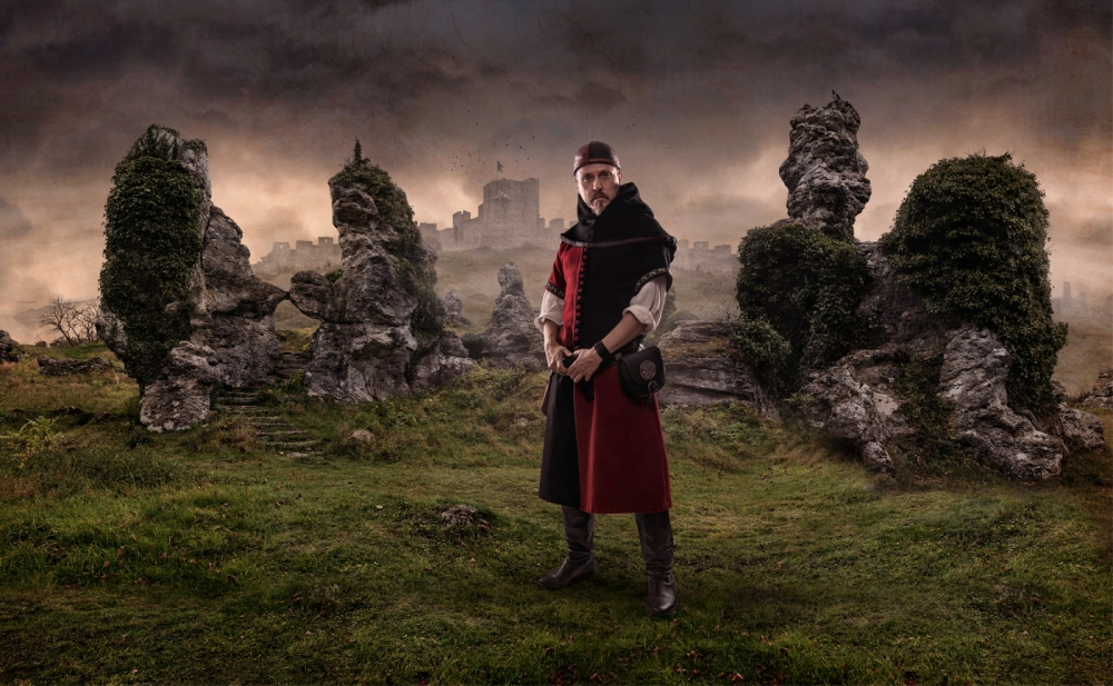 A piece of fine art art photography titled Medieval Me 1 by Roger Arleryd