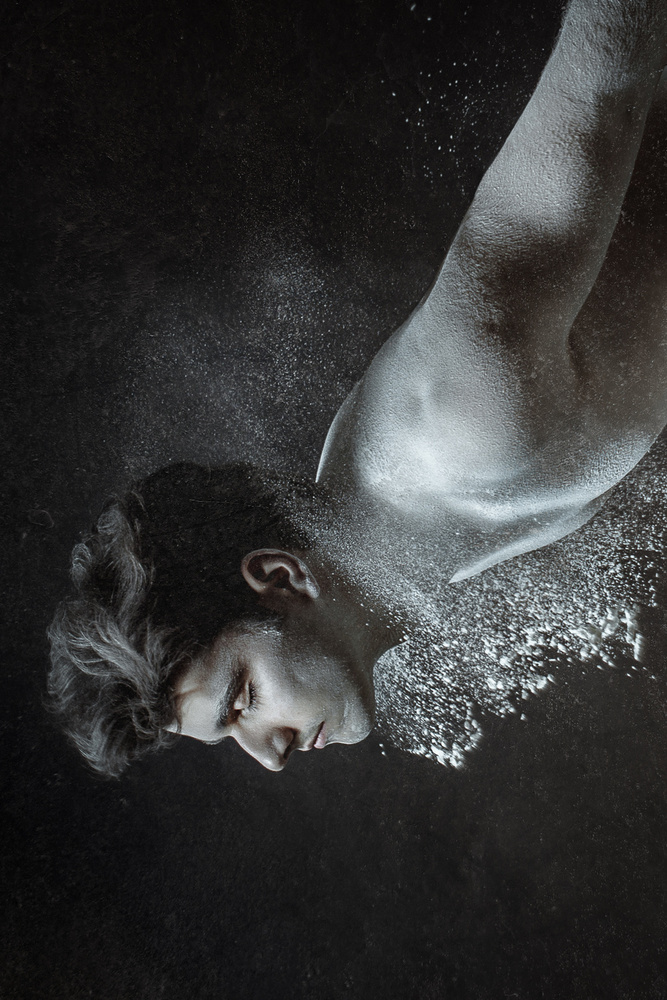 A piece of fine art art photography titled Deep Down by Angelina Goncharova