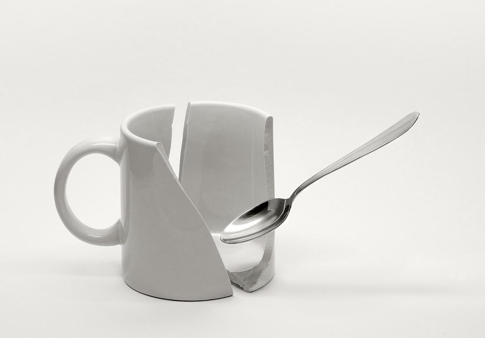 A piece of fine art art photography titled Broken Breakfast by Juan de Villalba
