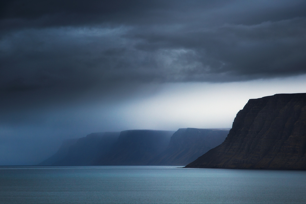 A piece of fine art art photography titled Sounds of Fjords by swapnil.