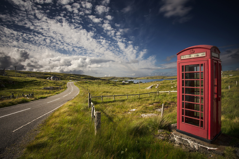 Lewis telephone box