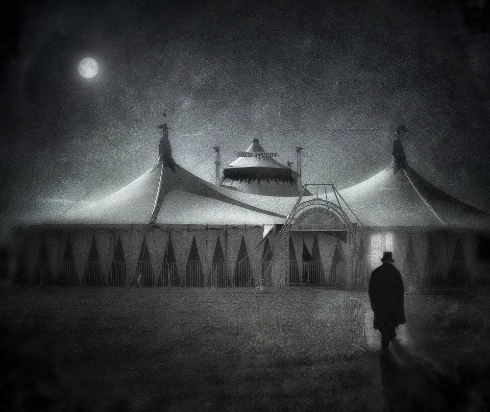 A piece of fine art art photography titled The Vanishing Circus by Andrew Michael