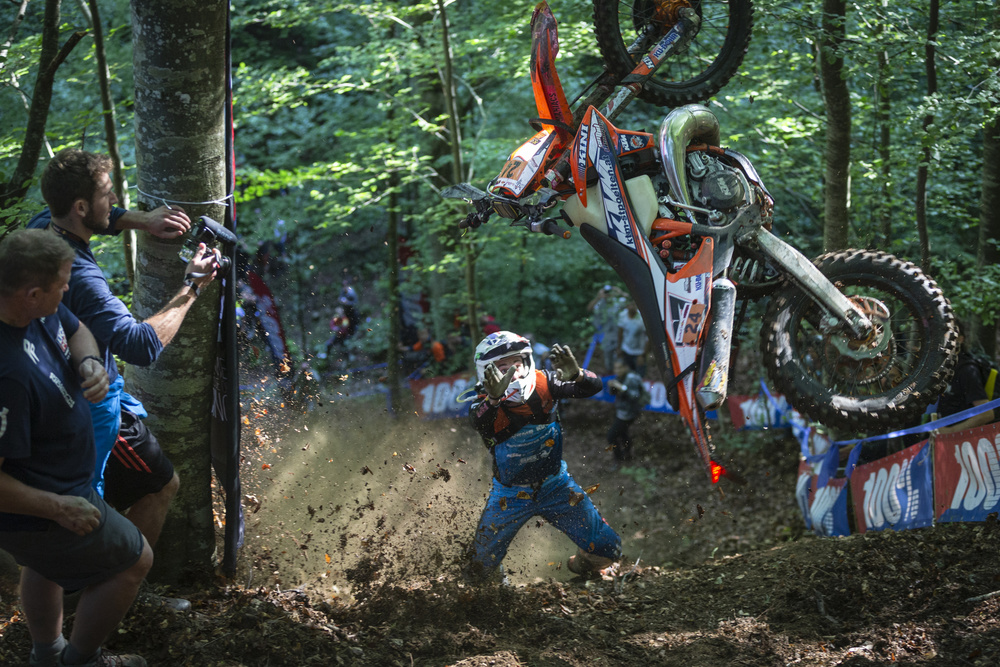 View this piece of fine art photography titled Red Bull Romaniacs by ATTILA SZABO