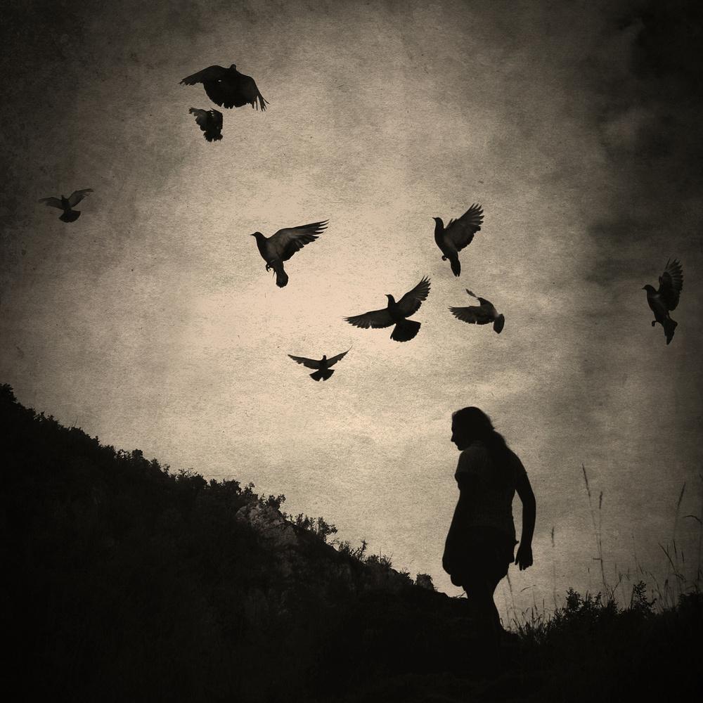 A piece of fine art art photography titled  So Far Away by Sandra Štimac