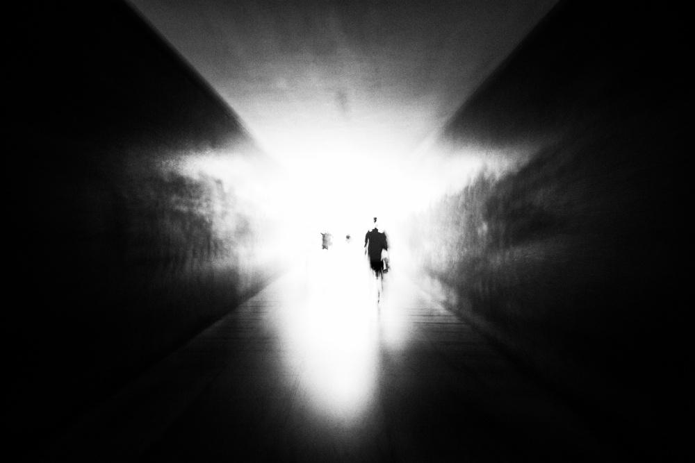 A piece of fine art art photography titled Le Passage by Fabien BRAVIN
