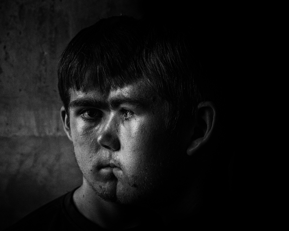 A piece of fine art art photography titled The Emotion of Autism by Phil Tooze