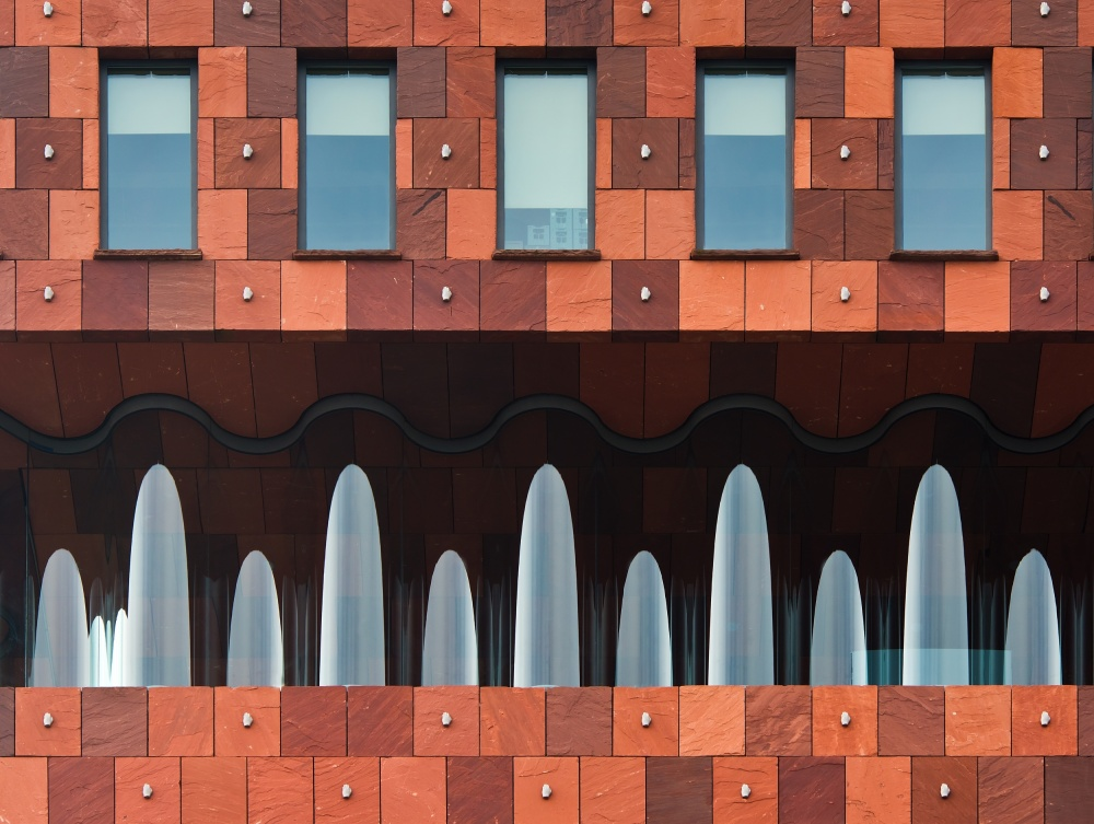A piece of fine art art photography titled Windows and MAS by Greetje van Son