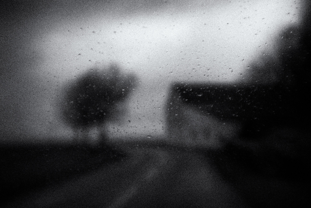 A piece of fine art art photography titled Rainy Day In the Countryside 02 by Jørgen Feldstedt