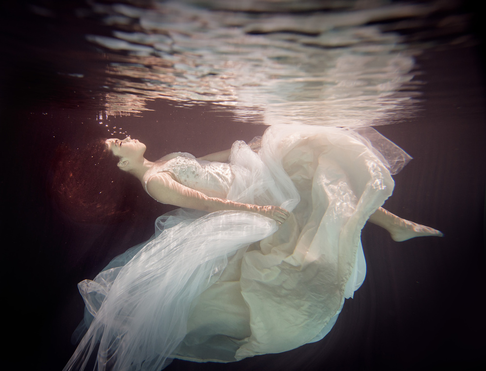 A piece of fine art art photography titled Inam by Gabriela Slegrova