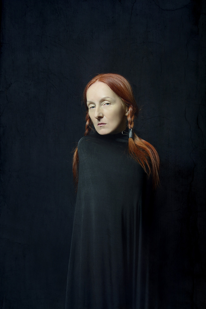 A piece of fine art art photography titled Portrait by Małgorzata Kossakowska