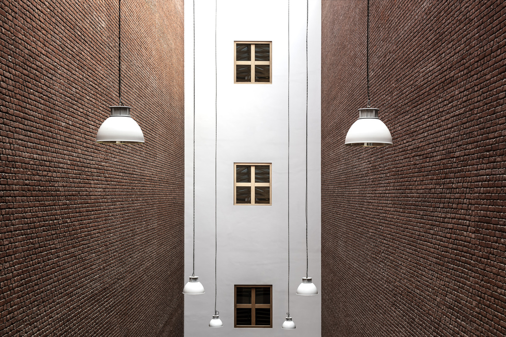 A piece of fine art art photography titled Six Lamps by fotomarion