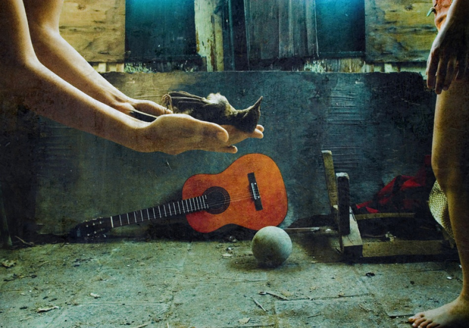 A piece of fine art art photography titled The Game Is Over by Zhana Viel