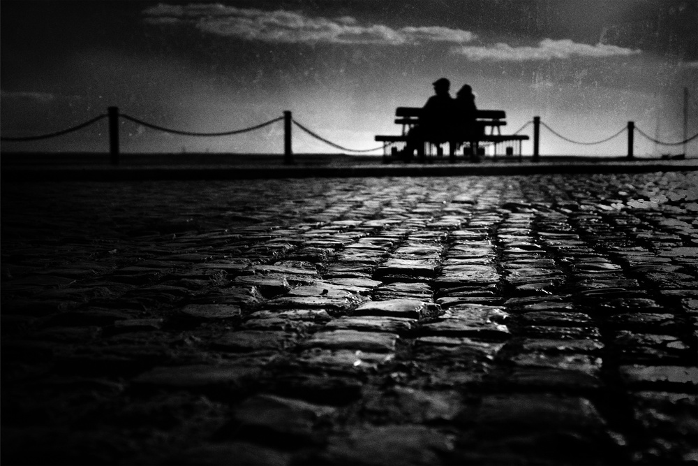 A piece of fine art art photography titled Twilight by Ina Tänzer