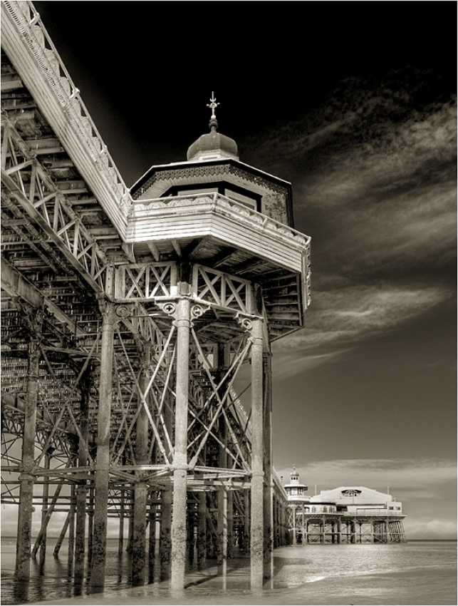 A piece of fine art art photography titled Blackpool Pier by Andrew Thatcher