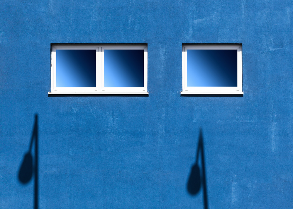 A piece of fine art art photography titled Windows IV by aRRO