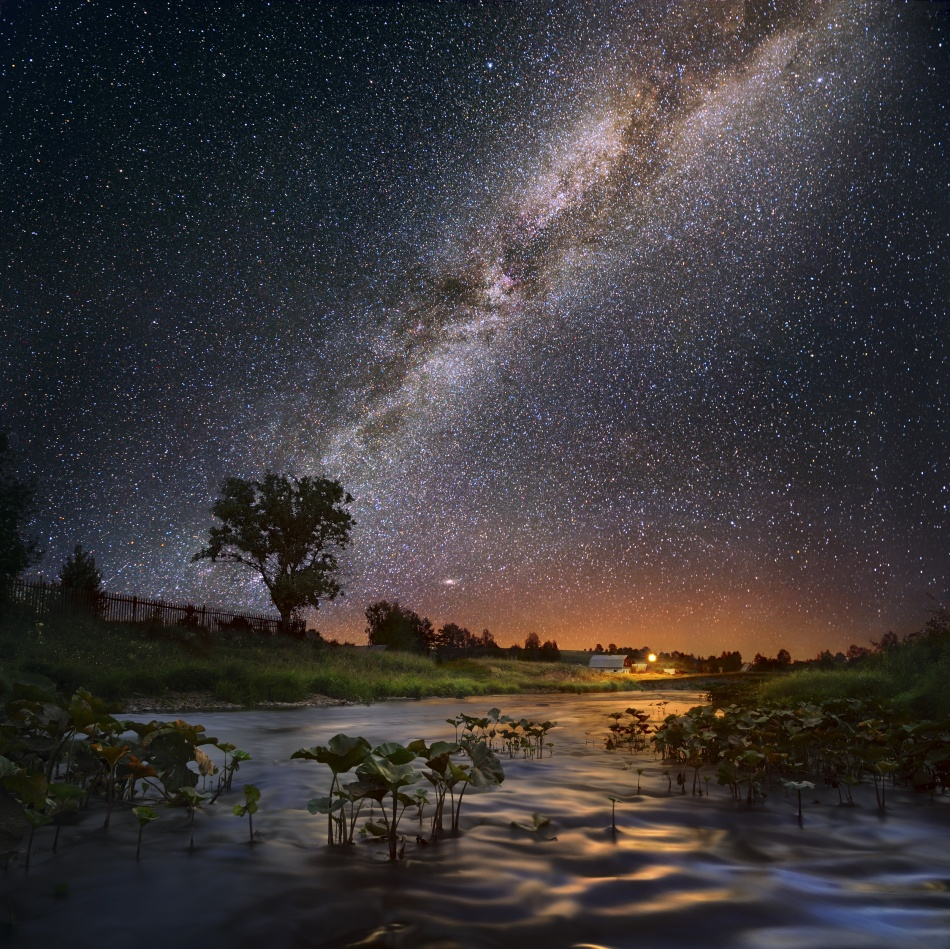A piece of fine art art photography titled Milky Way by Andrey Shumilin