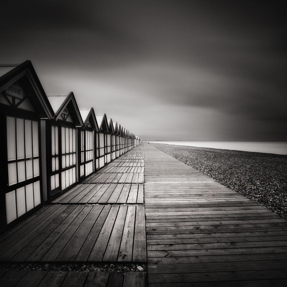 A piece of fine art art photography titled Triangles by Alain Baumgarten