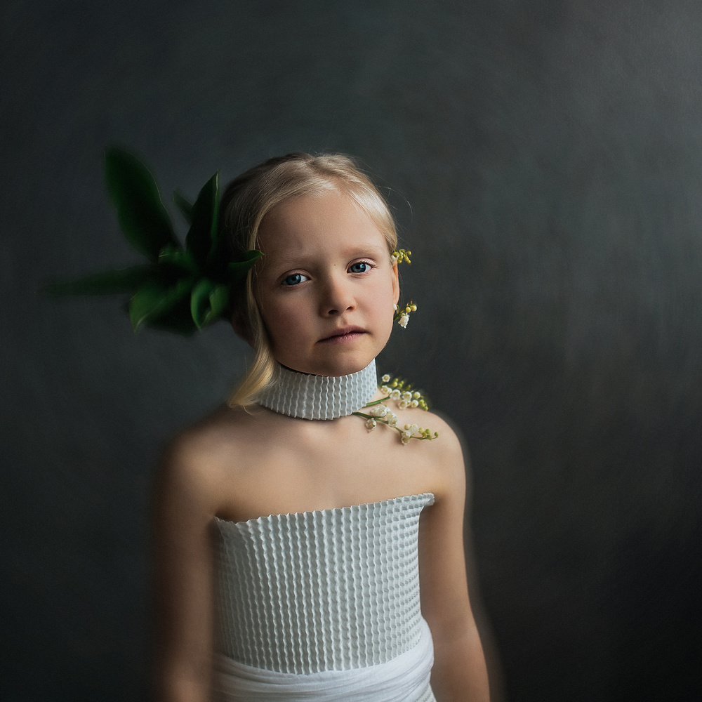 A piece of fine art art photography titled Lilly of the Valley by Greta Do