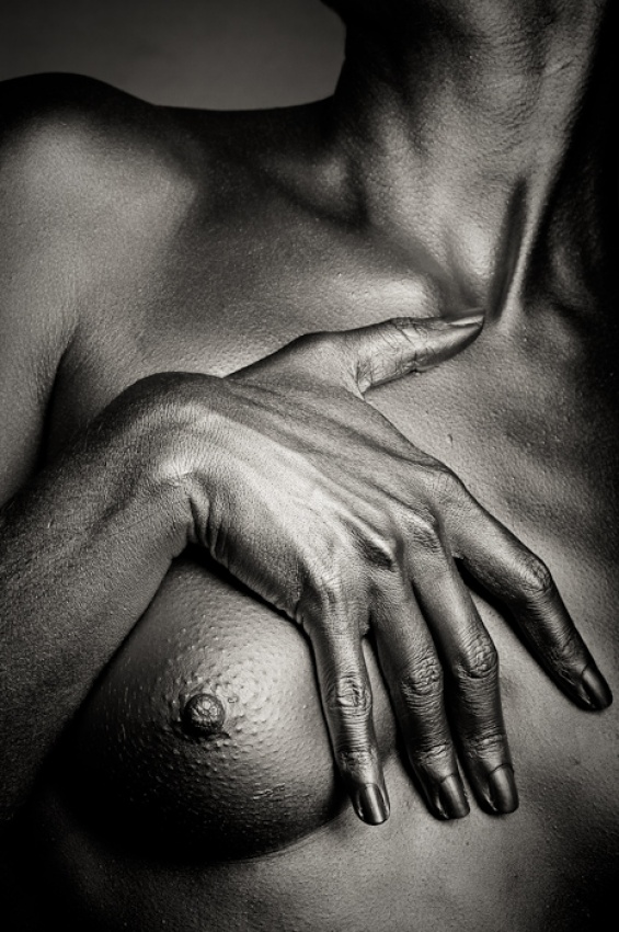 A piece of fine art art photography titled Hand by Ivano Coltellacci