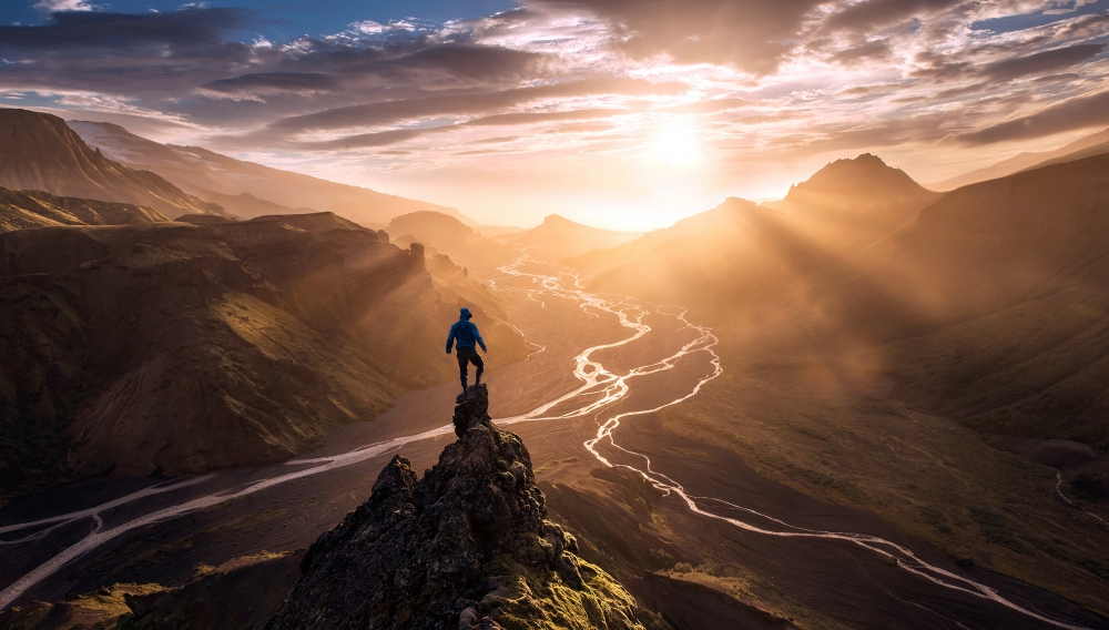 A piece of fine art art photography titled Blinded by Max Rive