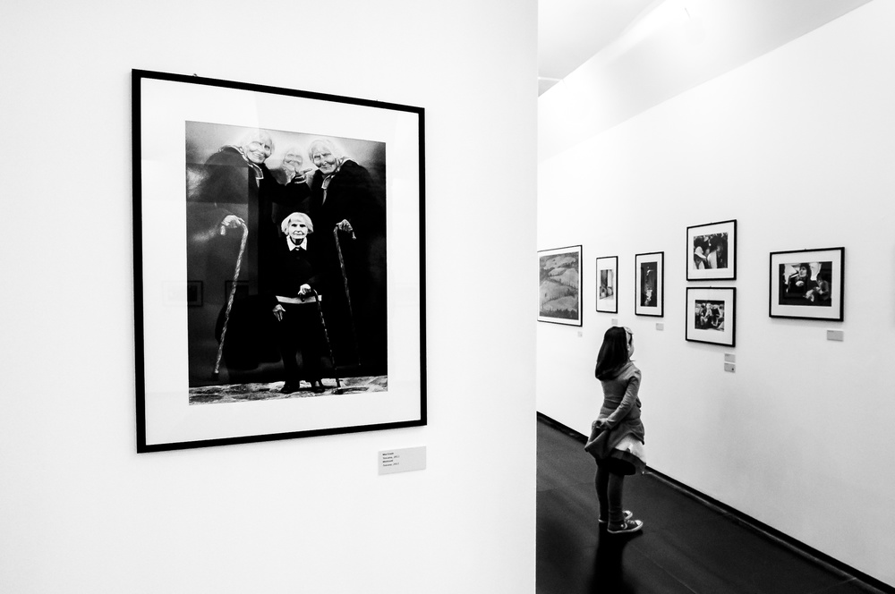A piece of fine art art photography titled Berengo Gardin Exibition by gianluca zaio