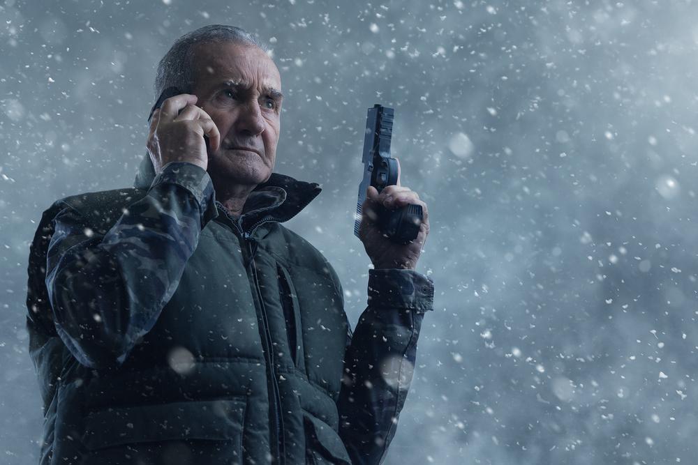 Grandpa channeling Liam Neeson