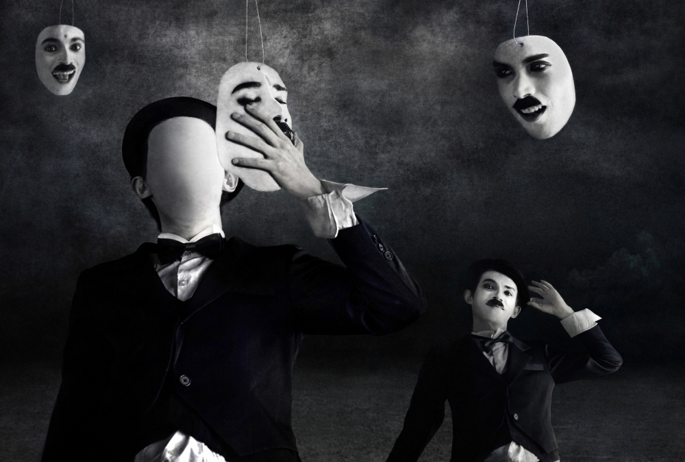 A piece of fine art art photography titled Multiple Personalities by Mieke Suharini