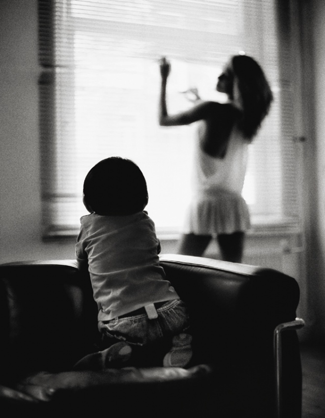 A piece of fine art art photography titled My Mother Is Awesome by moses stell