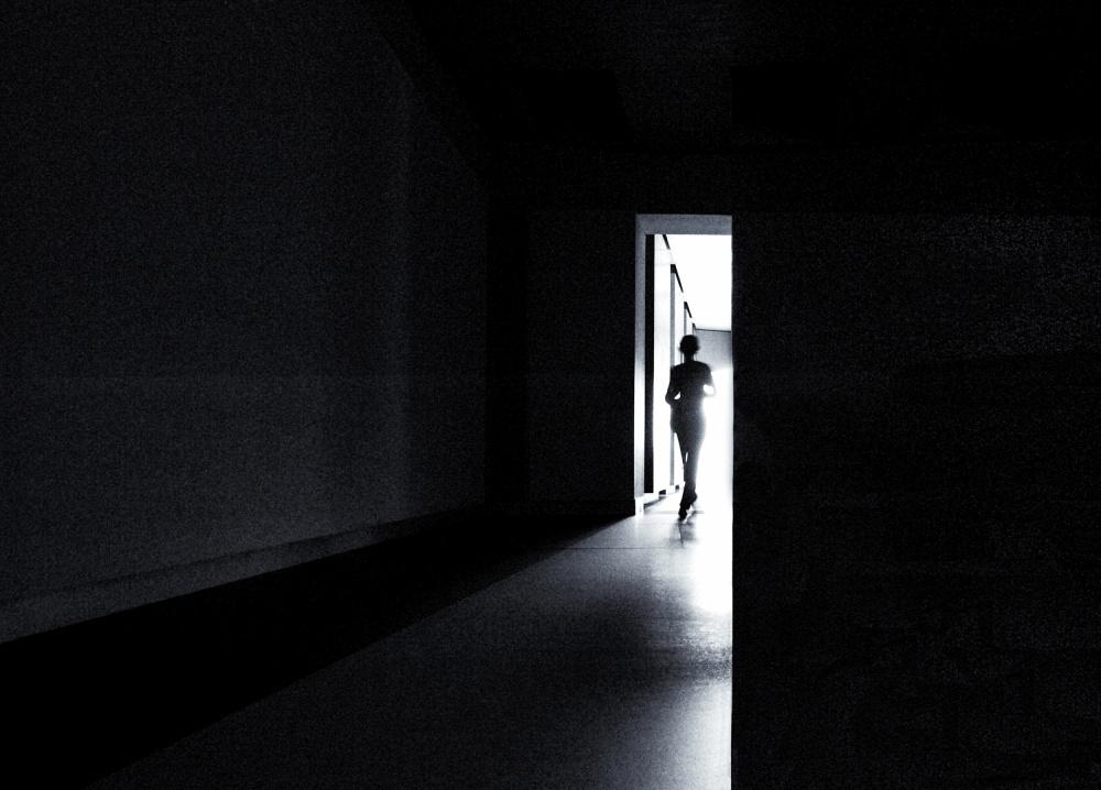 A piece of fine art art photography titled The Never Ending Light by Gerard Jonkman