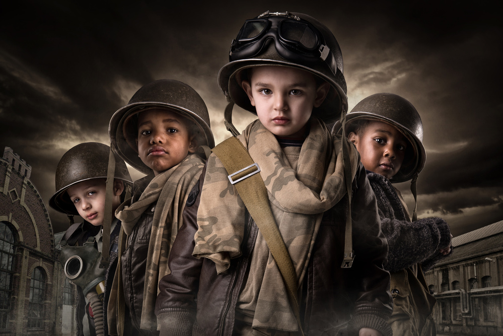 A piece of fine art art photography titled Band of Brothers by Luis Louro