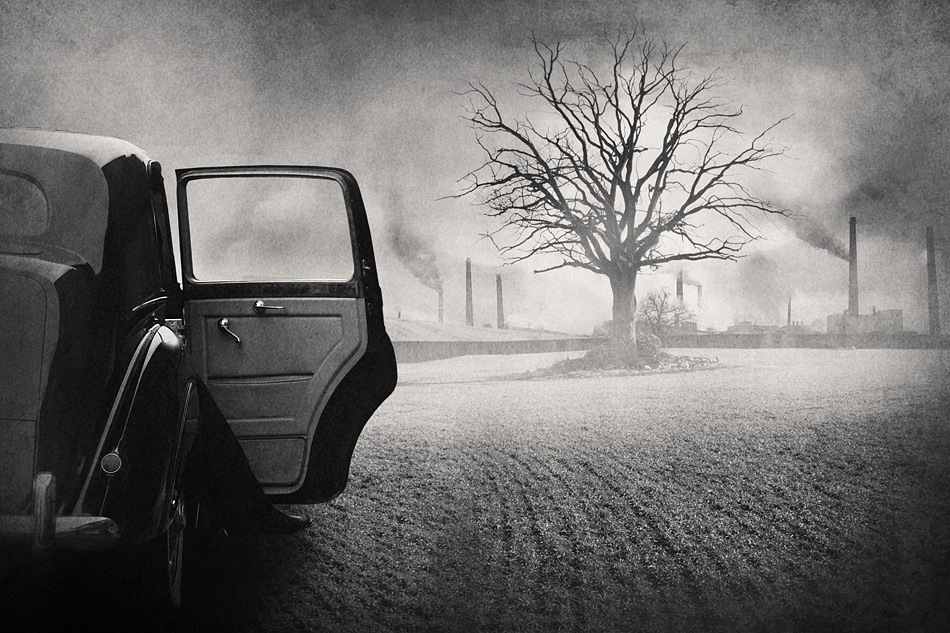 A piece of fine art art photography titled The Visit by Tommy Ingberg