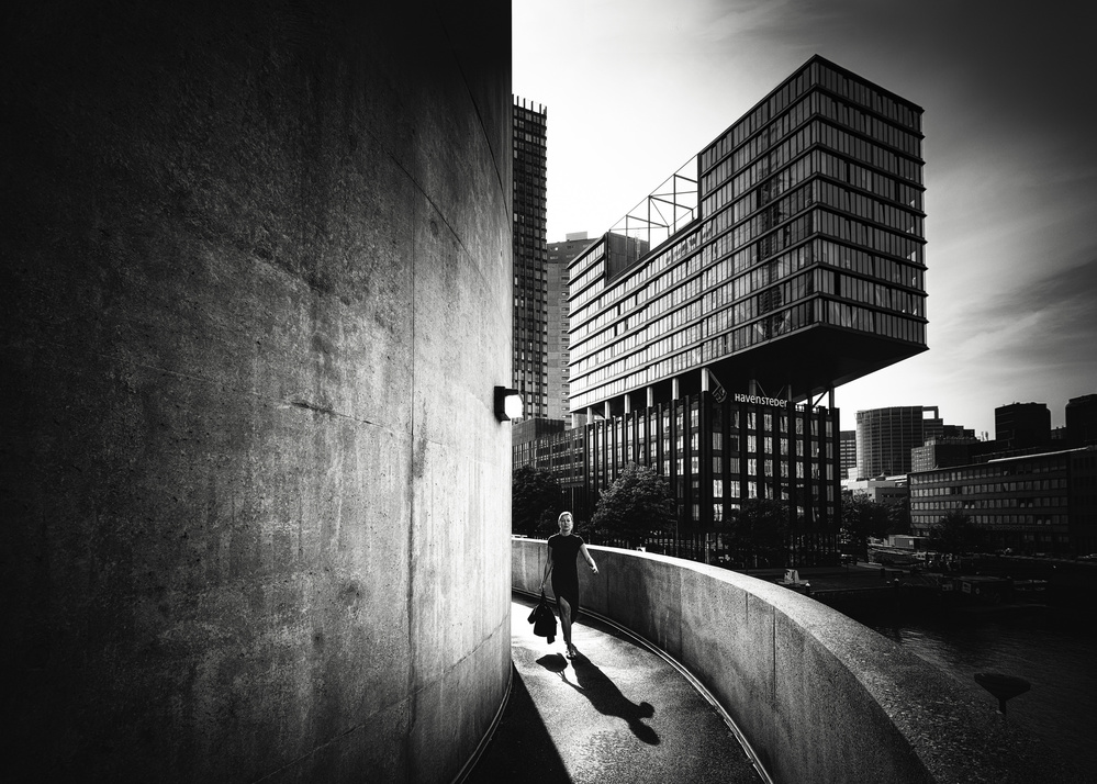 A piece of fine art art photography titled Ready for the City by Christophe Staelens