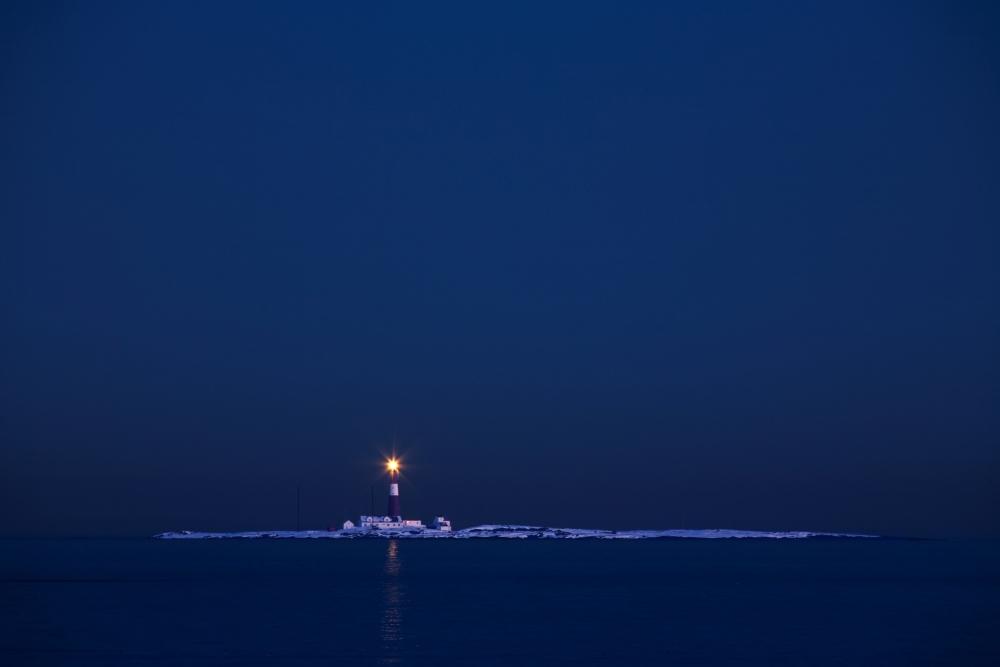 A piece of fine art art photography titled The Lighthouse by Audun Wigen