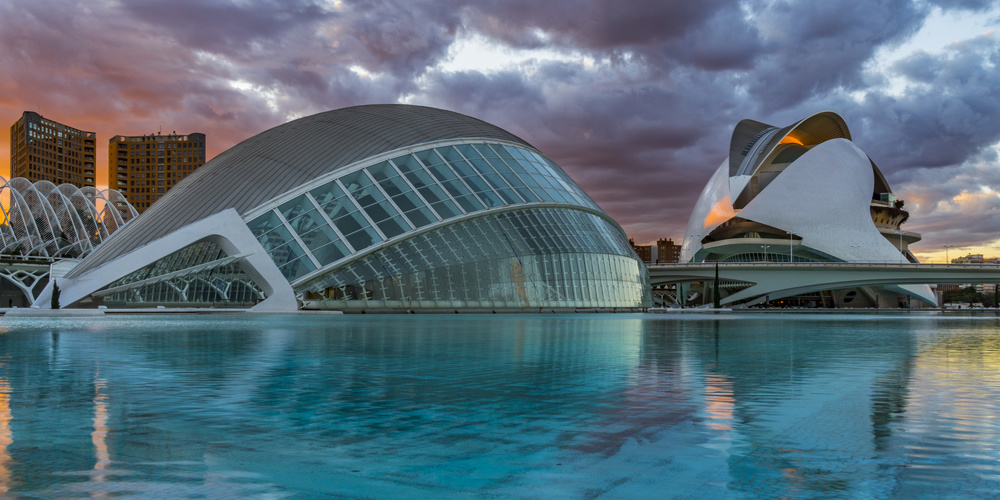 A piece of fine art art photography titled Fiery Valencia by Erik Proper