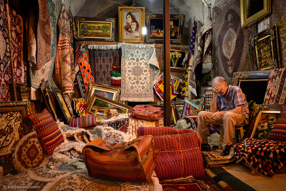 View this piece of fine art photography titled Bazar by Marsel van Oosten