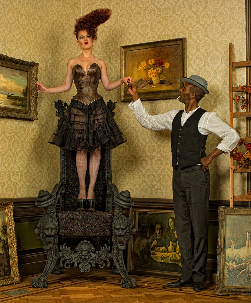 A piece of fine art art photography titled Helping Hand by Peter Kemp
