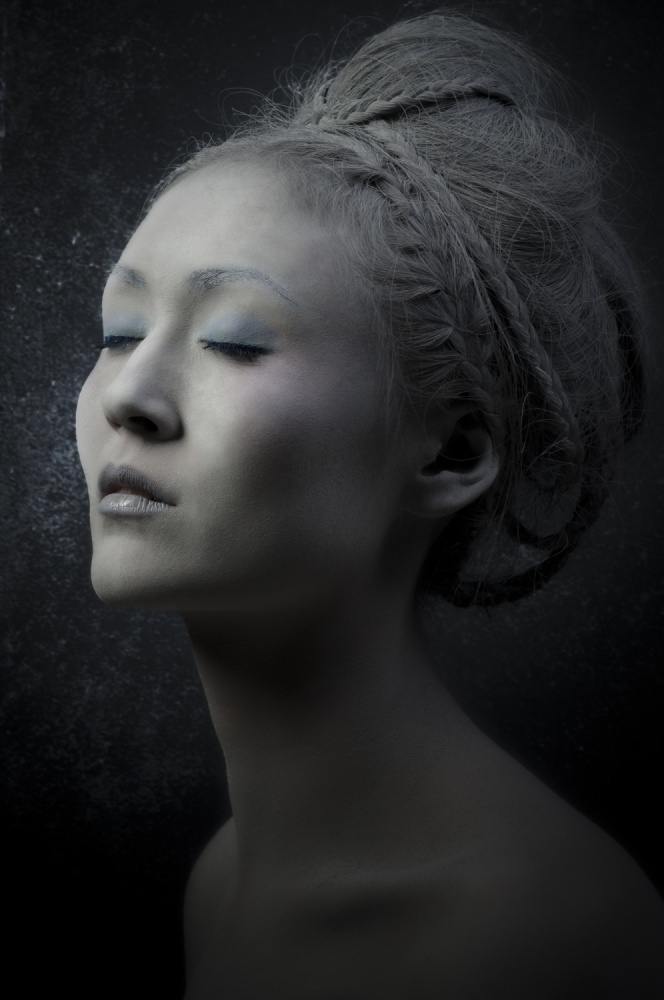 A piece of fine art art photography titled Beauty of Gray by Stefan Witte