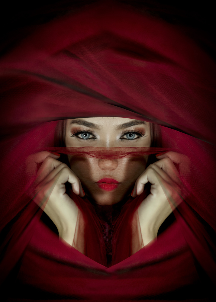 View this piece of fine art photography titled portrait of a woman by teddy hariyanto