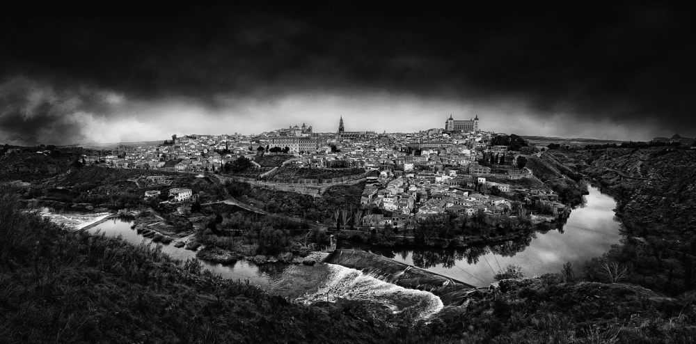 A piece of fine art art photography titled The Imperial City by Jose C. Lobato